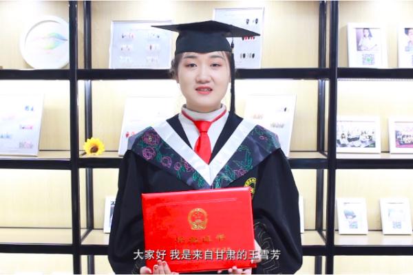 甘肃陇南美甲纹绣学员王雪芳